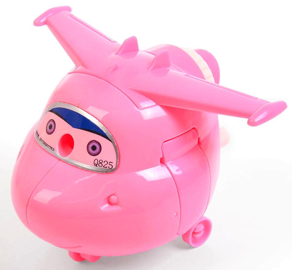 Точилка механическая с контейнером Вертолет цвет розовый 2924196 - Чертежные принадлежности
