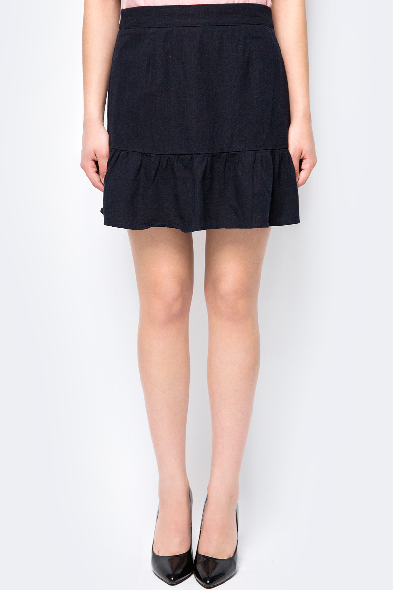 Юбка Vero Moda, цвет: черный. 10192461. Размер M (44) платье vero moda цвет черный 10190660 black размер m 44