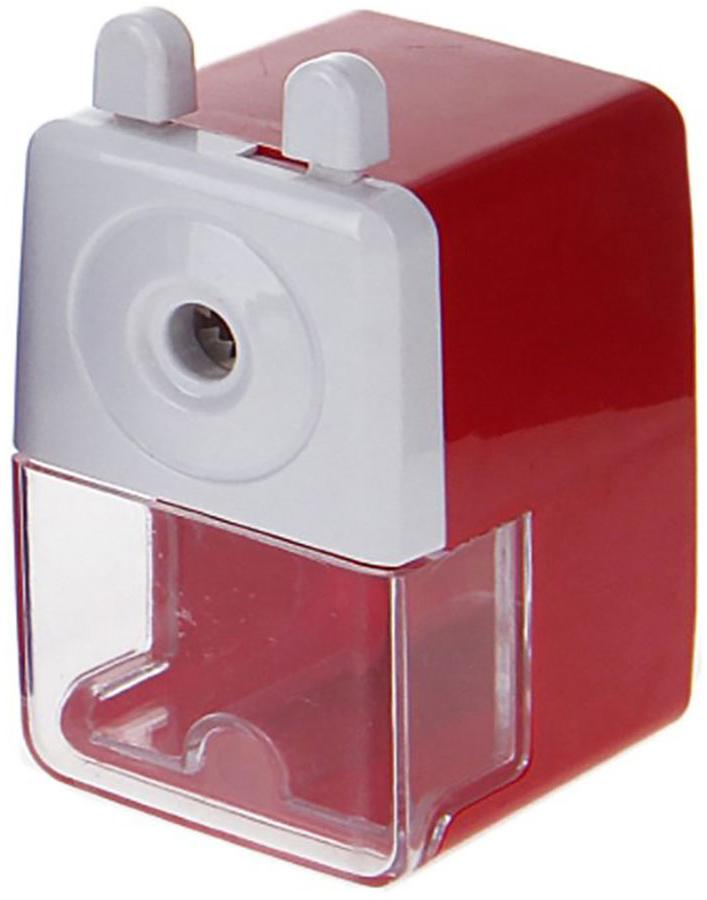 Точилка механическая с контейнером Классика средняя цвет красный 127691127691_красныйТочилка — это приспособление, облегчающее затачивание карандашей. В зависимости от особенностей конструкции, она может быть ручной (небольшой размер, помещается в кармане) или настольной (более крупный размер) и подходить для обычных или толстых карандашей. Точилка — необходимый инструмент на любом школьном или офисном столе. Это канцелярское изделие придет на помощь как взрослому, так и ребенку в самый нужный момент.