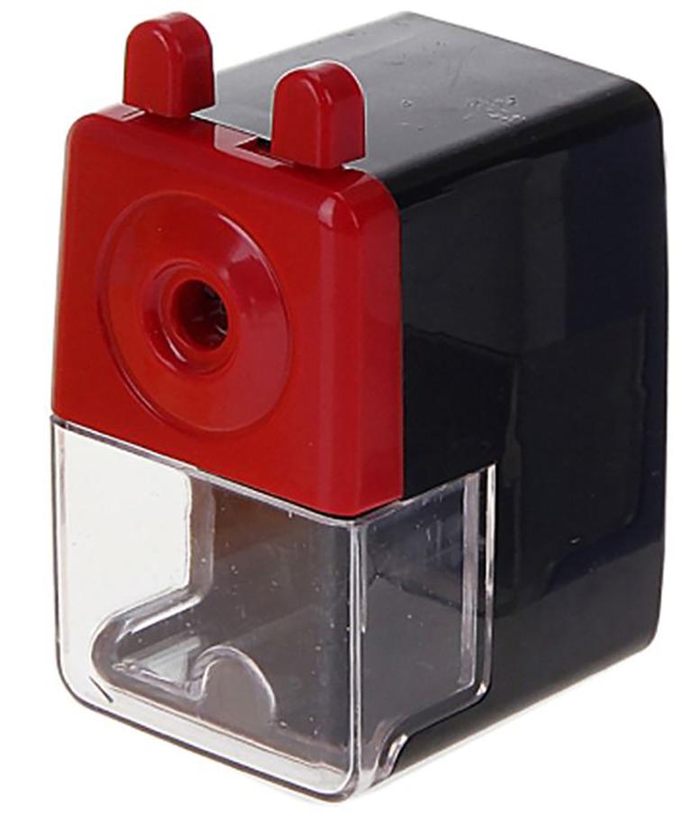 Точилка механическая с контейнером Классика средняя цвет черный 127691127691_черныйТочилка — это приспособление, облегчающее затачивание карандашей. В зависимости от особенностей конструкции, она может быть ручной (небольшой размер, помещается в кармане) или настольной (более крупный размер) и подходить для обычных или толстых карандашей. Точилка — необходимый инструмент на любом школьном или офисном столе. Это канцелярское изделие придет на помощь как взрослому, так и ребенку в самый нужный момент.