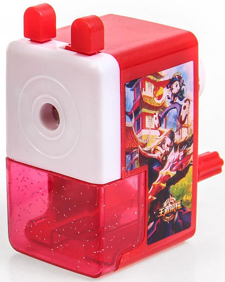 Точилка механическая с контейнером Классика цвет красный 29242002924200_красныйТочилка — это приспособление, облегчающее затачивание карандашей. В зависимости от особенностей конструкции, она может быть ручной (небольшой размер, помещается в кармане) или настольной (более крупный размер) и подходить для обычных или толстых карандашей. Точилка — необходимый инструмент на любом школьном или офисном столе. Это канцелярское изделие придет на помощь как взрослому, так и ребенку в самый нужный момент.