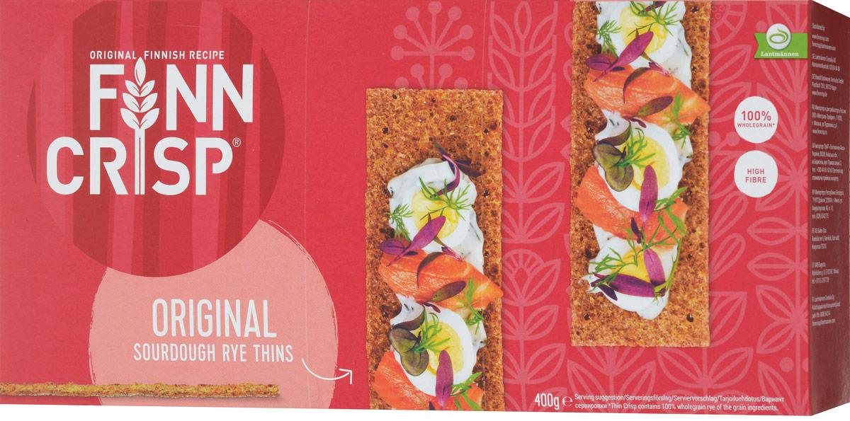 Finn Crisp Original хлебцы ржаные, 400 г finn crisp traditional хлебцы традиционные 200 г