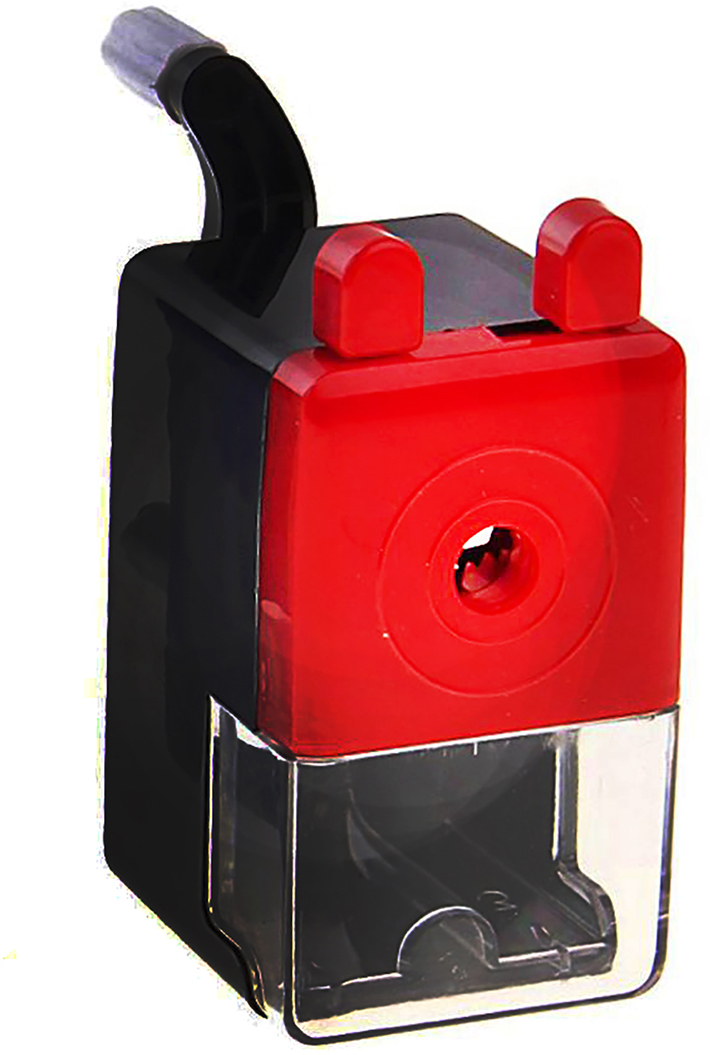 Точилка механическая с контейнером Классика цвет черный 127690127690_черныйТочилка — это приспособление, облегчающее затачивание карандашей. В зависимости от особенностей конструкции, она может быть ручной (небольшой размер, помещается в кармане) или настольной (более крупный размер) и подходить для обычных или толстых карандашей. Точилка — необходимый инструмент на любом школьном или офисном столе. Это канцелярское изделие придет на помощь как взрослому, так и ребенку в самый нужный момент.