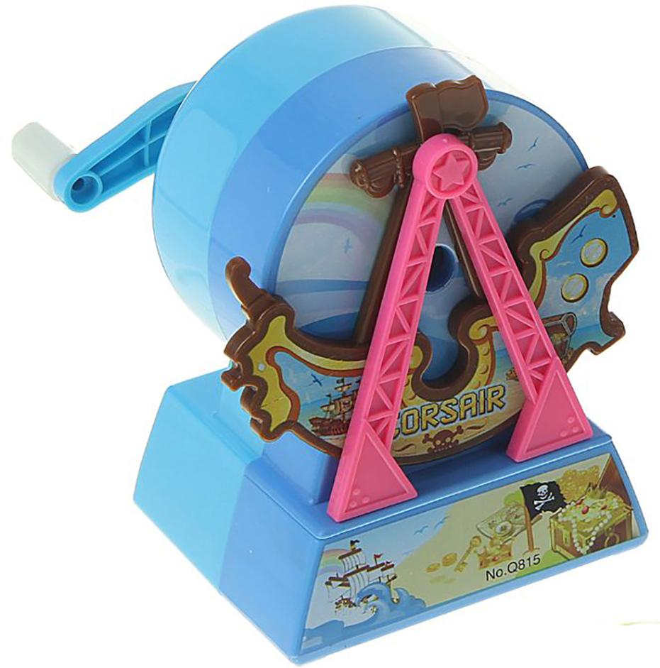 Точилка механическая с контейнером Корабль цвет голубой 15054431505443_голубойТочилка — необходимый инструмент на любом школьном или офисном столе. В зависимости от особенностей конструкции она может быть ручной (небольшой размер, помещается в кармане) или настольной (более крупная) и подходить для обычных или толстых карандашей. Заострить, выровнять или восстановить сломавшийся грифель — вот главные функции этого приспособления.