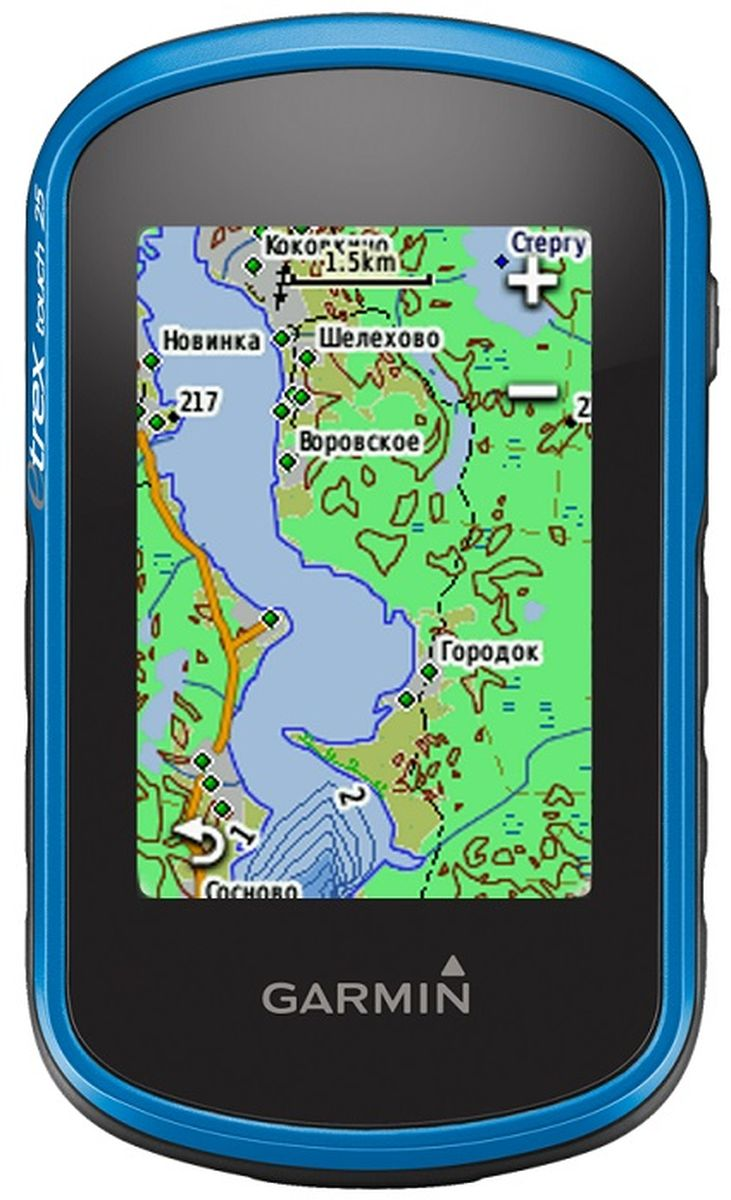 Навигационный приемник Garmin eTrex Touch 25. 010-01325-03 garmin навигационный приемник drive 50 rus lmt gps 010 01532 45