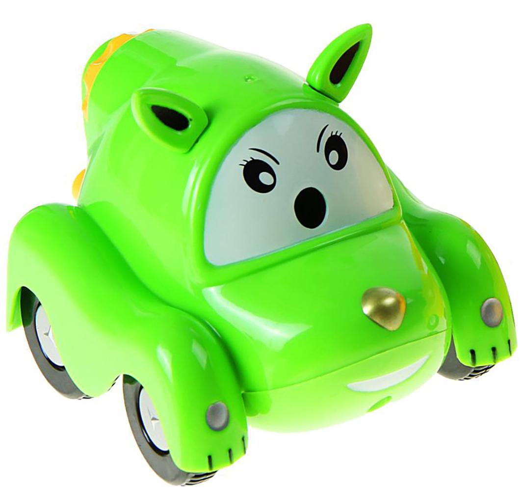 Точилка механическая с контейнером Машинка цвет зеленый 1505480 -  Чертежные принадлежности