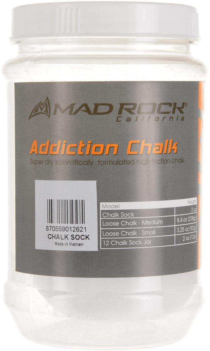 Первоклассная мелкодисперсная магнезия в шариках от Калифорнийской компании Mad Rock. Один шарик в пластиковой банке. Состав: карбонат магнияУпаковка: шарики в пластиковой банке