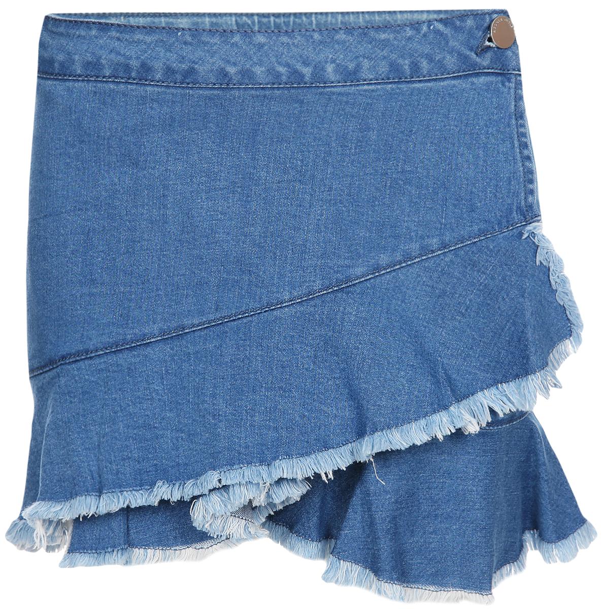 Юбка для девочки Acoola Suna, цвет: синий. 20220180074_500. Размер 128