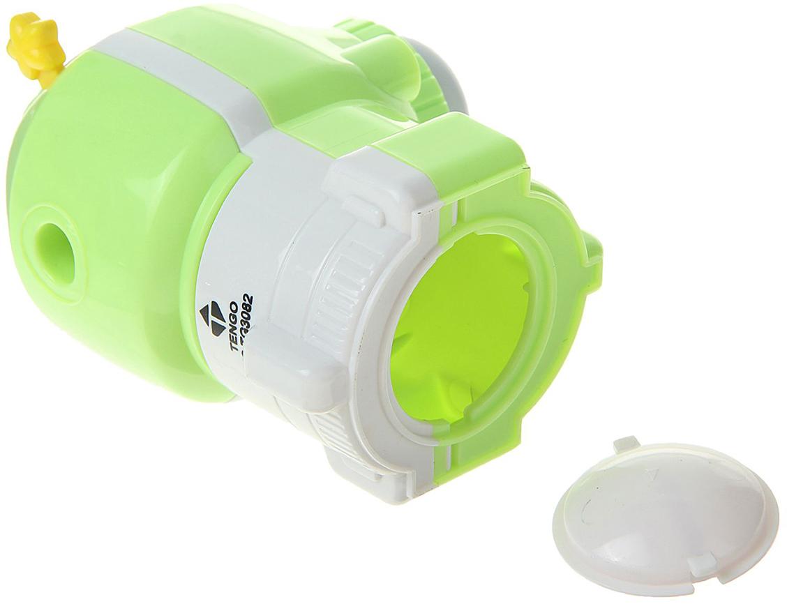 Точилка механическая с контейнером Ракета цвет зеленый 1505444 -  Чертежные принадлежности