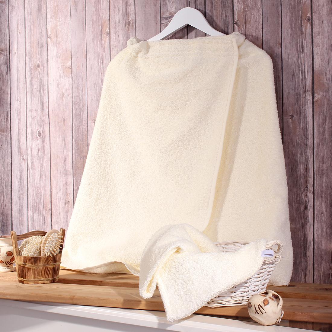 Комплект для бани Dome  Harmonika , цвет: молочный, 2 предмета. dme333633 -  Баня, сауна