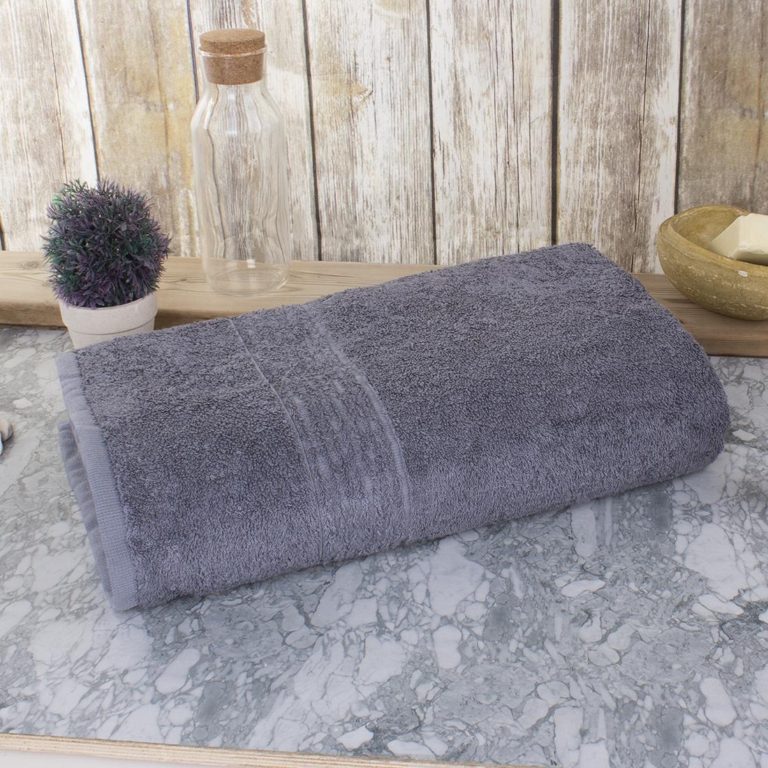Полотенце Dome Harmonika, бамбуковое, цвет: пепельный серый. dme333662 шкаф для одежды 4 х дв с ящиками ирис
