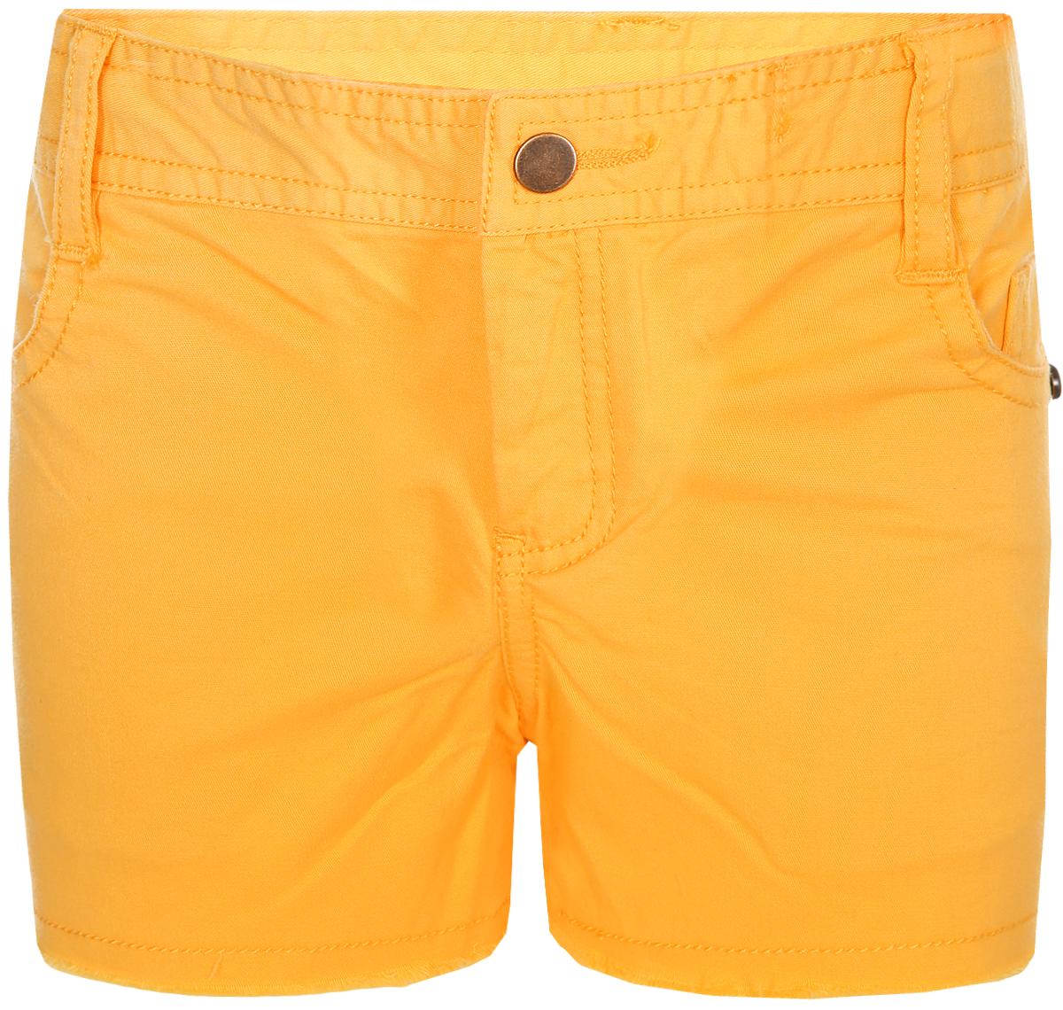 Шорты для девочки Sela, цвет: желтый. SH-515/524-8224. Размер 110, 5 лет