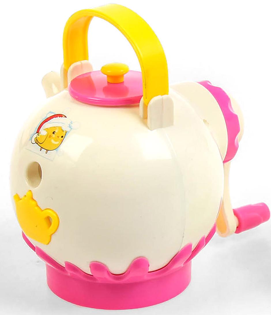 Точилка механическая с контейнером Чайник цвет розовый 29241952924195_розовыйТочилка — необходимый инструмент на любом школьном или офисном столе. В зависимости от особенностей конструкции она может быть ручной (небольшой размер, помещается в кармане) или настольной (более крупная) и подходить для обычных или толстых карандашей. Заострить, выровнять или восстановить сломавшийся грифель — вот главные функции этого приспособления.
