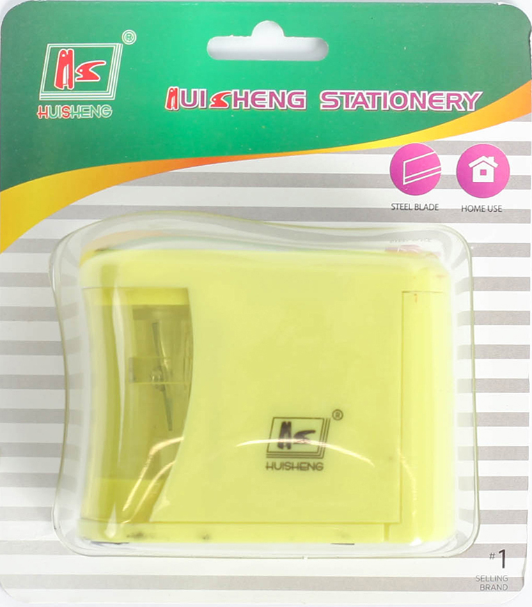 Точилка электрическая с контейнером цвет желтый 2691089 -  Чертежные принадлежности