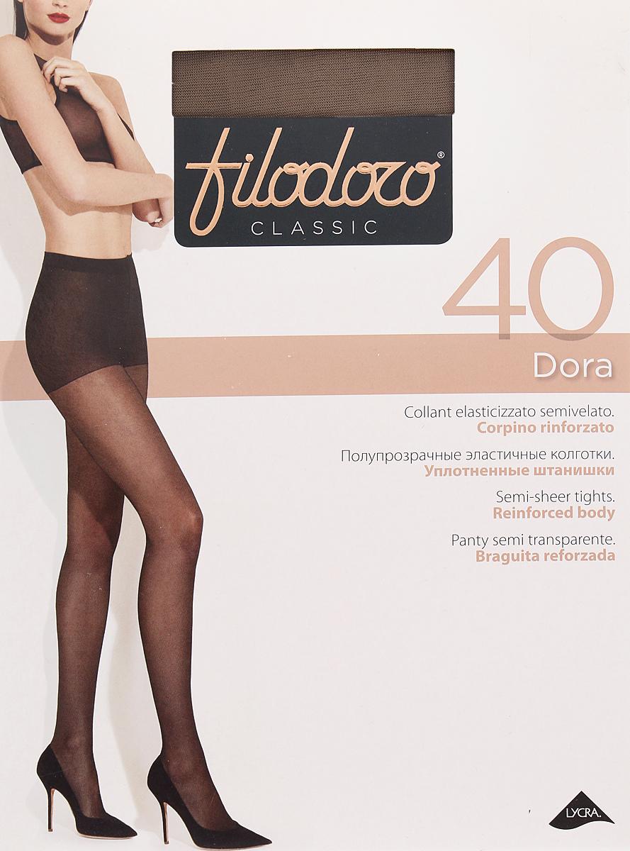 Колготки женские Filodoro Classic Dora 40, цвет: Glace (бронзовый). SNL-411948. Размер 5 колготки filodoro classic колготки