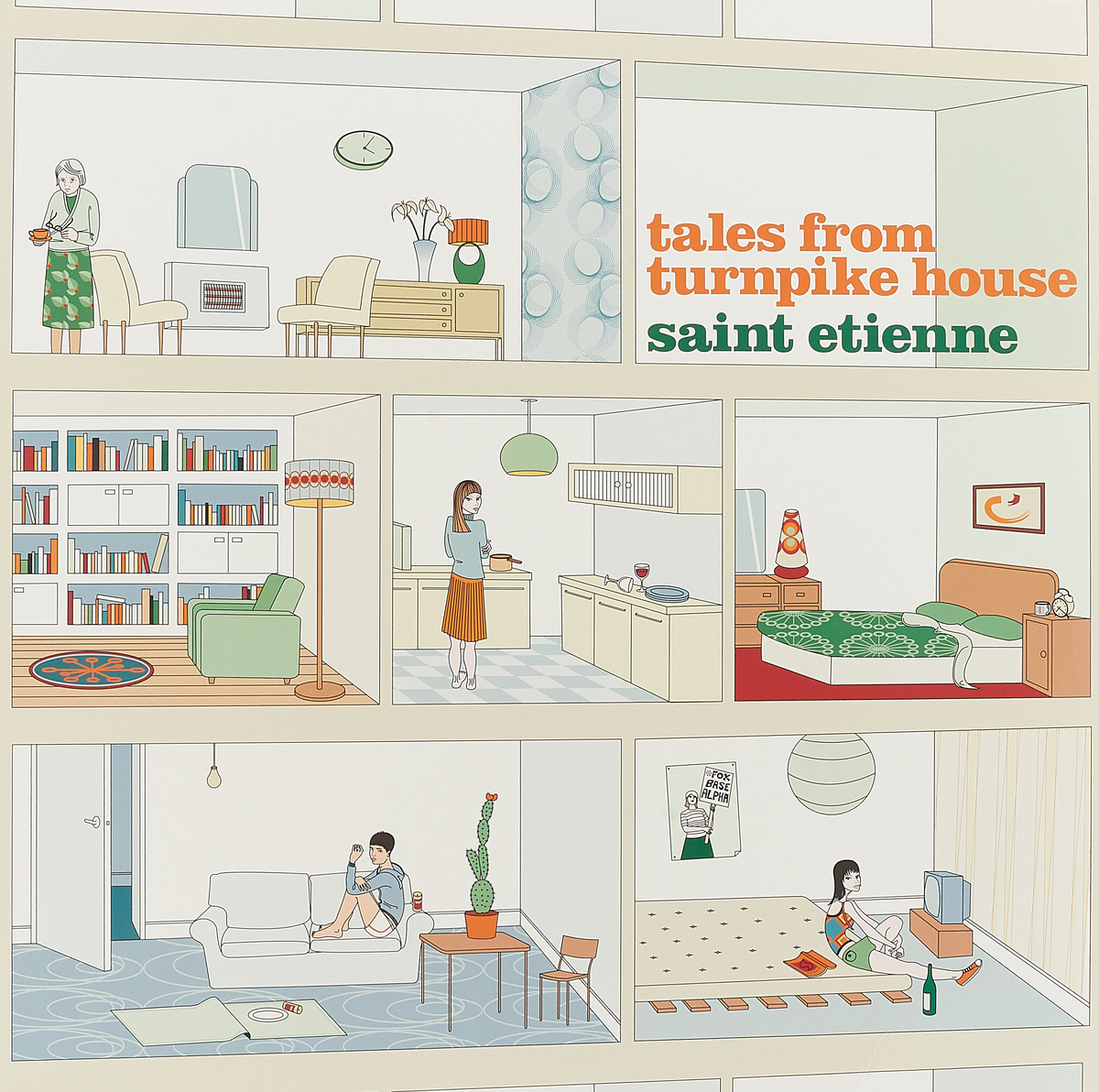 Saint Etienne Saint Etienne. Tales From Turnpike House (Re-issue) (LP) as saint etienne stade de rennes fc