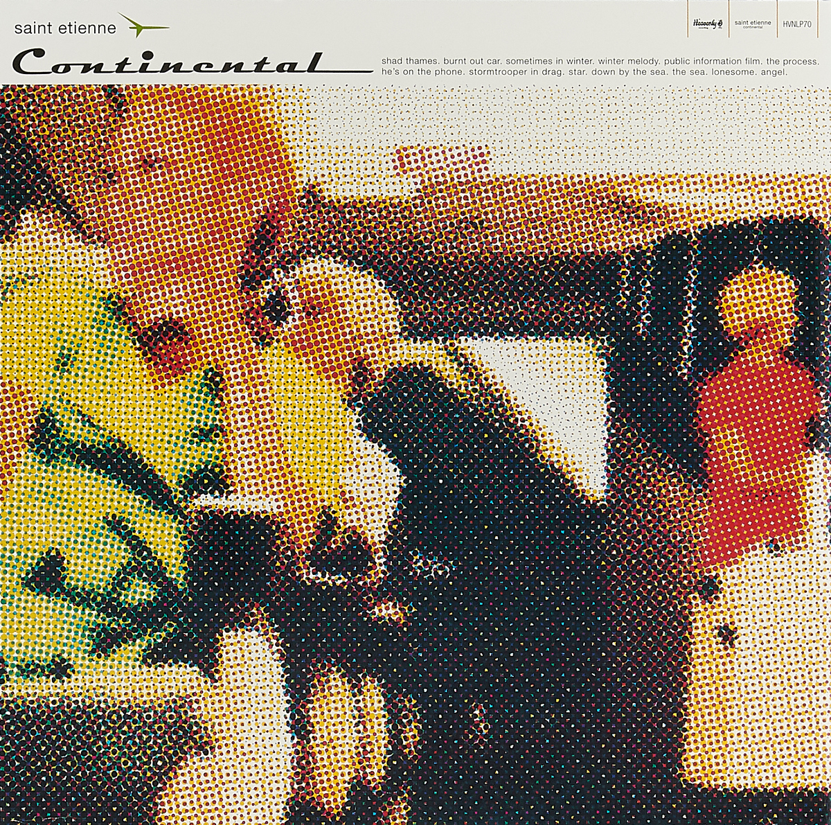 Saint Etienne Saint Etienne. Continental (Re-issue) (LP) as saint etienne stade de rennes fc