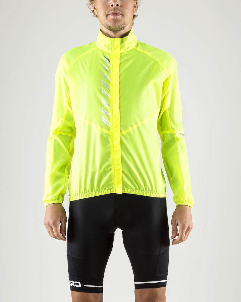 Куртка мужская для велоспорта Craft Mist Wind, цвет: желтый. 1906093/999000. Размер XXL (54)1906093/999000