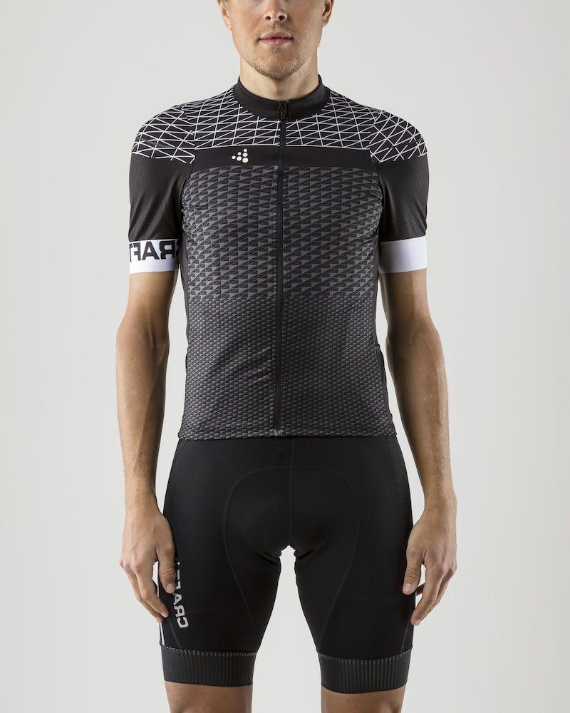 Майка мужская для велоспорта Craft Route, цвет: черный. 1906089/999900. Размер M (48) сумка для бега craft transit 1 цвет черный