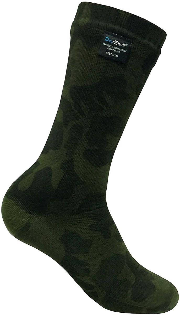 Носки водонепроницаемые Dexshell, цвет: камуфляж. DS736. Размер L (43/46)DS736_Camouflage