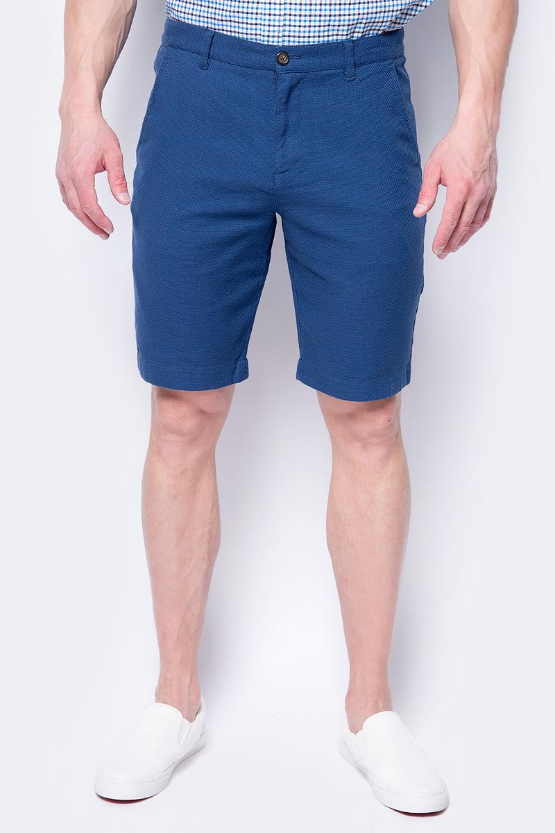 Шорты мужские Sela, цвет: темно-синий. SH-215/553-8243. Размер 54 цена