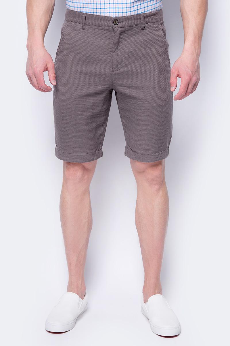 Шорты мужские Sela, цвет: коричневый. SH-215/553-8243. Размер 54