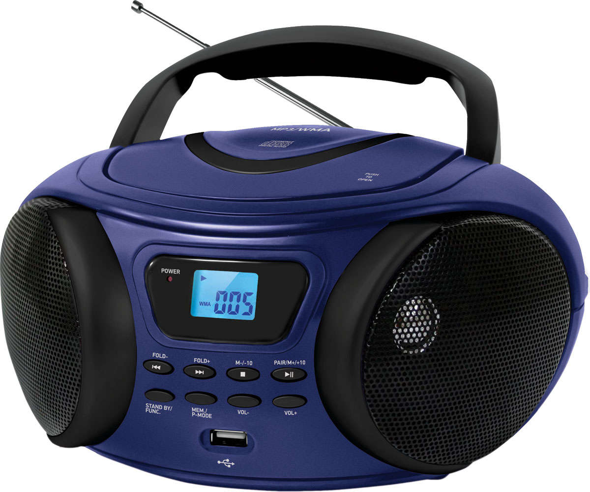 BBK BX170BT, Dark Blue CD/MP3 магнитола магнитола mystery bm 6108u black cd mp3
