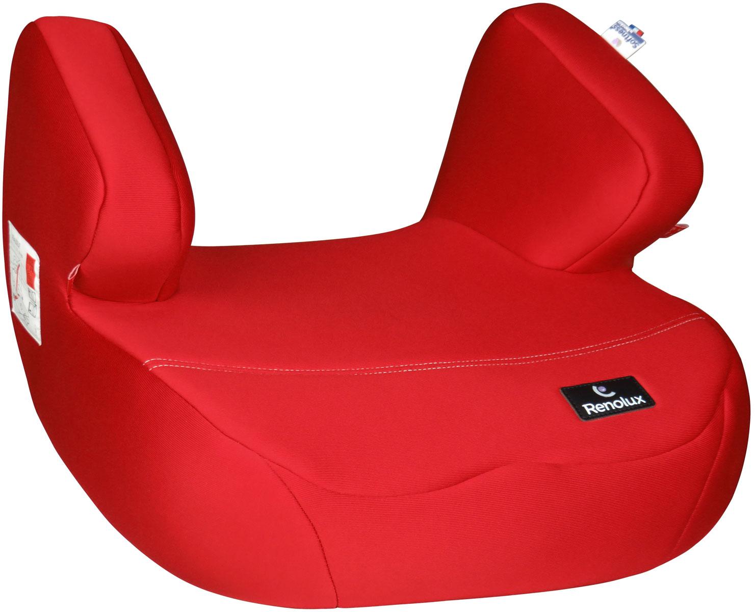 Renolux Автокресло-бустер Jet цвет красный