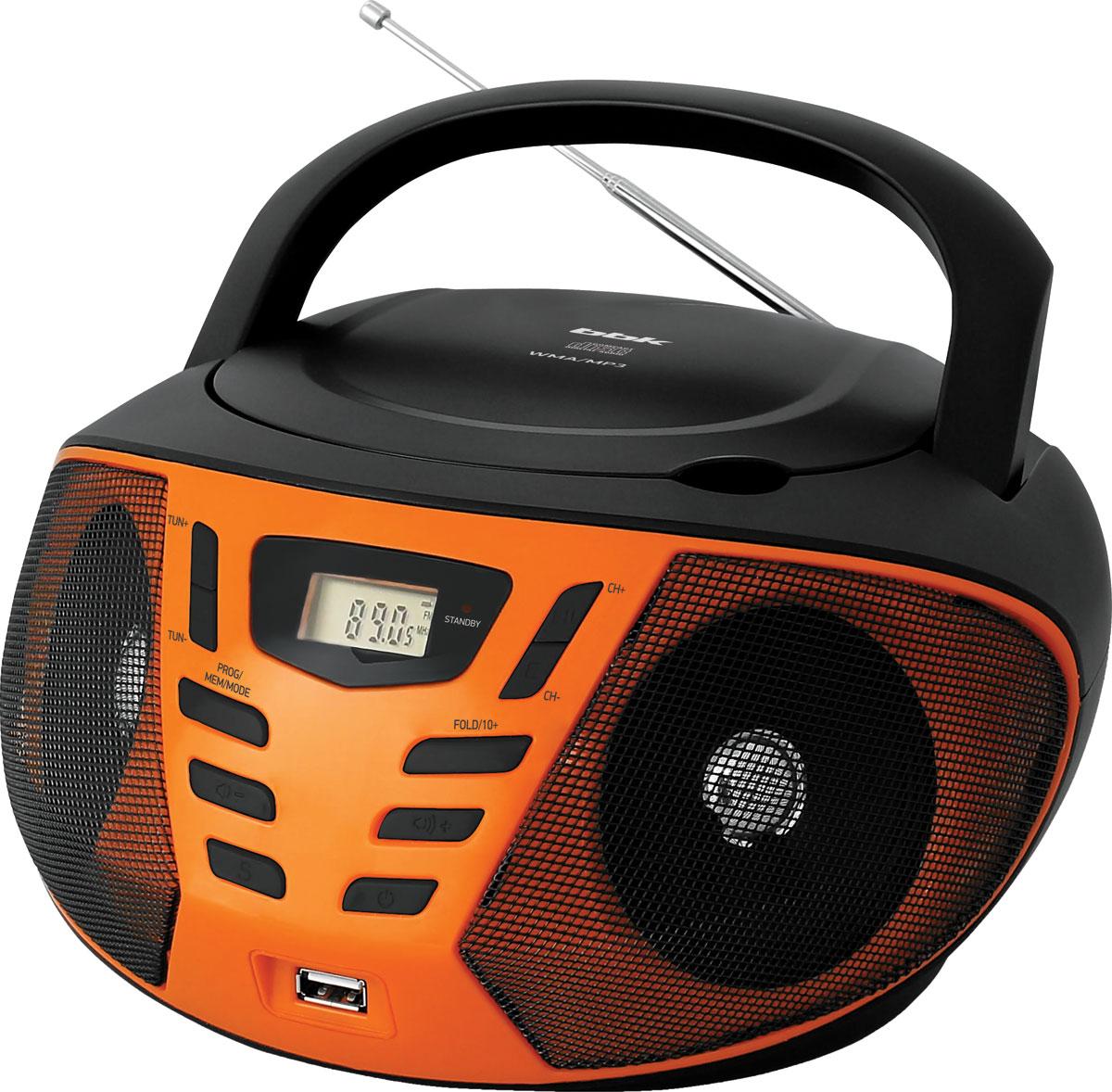 BBK BX193U, Black Orange CD/MP3 магнитола