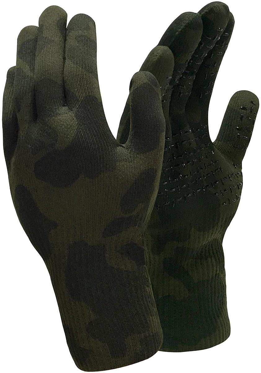 Перчатки водонепроницаемые DexShell Camouflage Gloves, цвет: камуфляж. DG726. Размер XL (25/29)