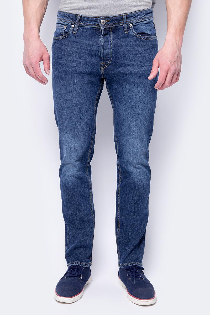 Джинсы мужские Jack & Jones, цвет: синий. 12130512. Размер 30 (44)12130512