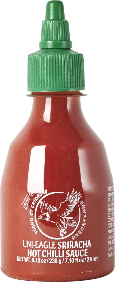 Uni-Eagle Соус шрирача перца чили 56%, 230 г соус острый чили шрирача uni eagle sriracha hot chilli sauce 475 мл