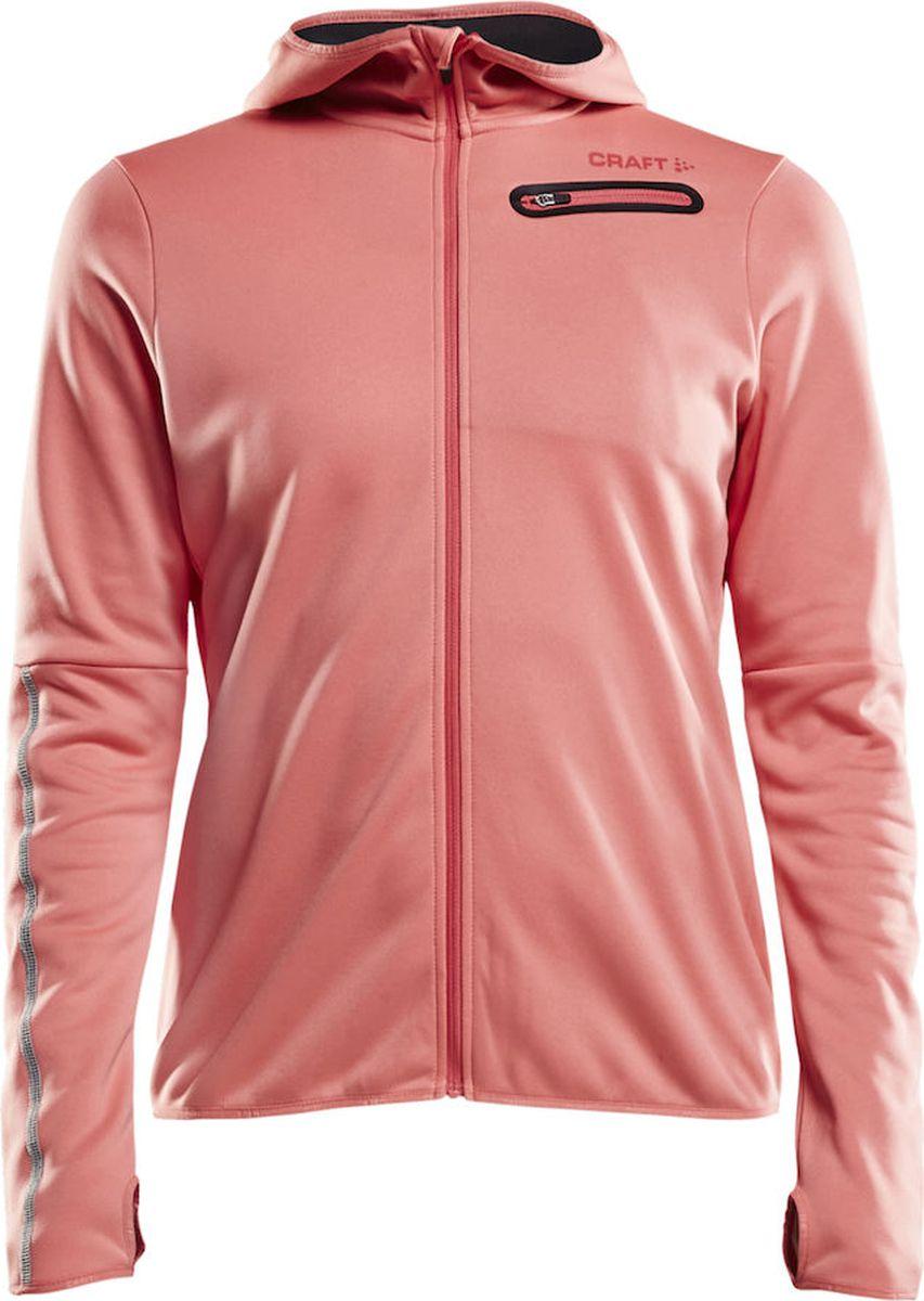 Ветровка женская Craft Eaze Jersey, цвет: розовый. 1906033/702000. Размер XL (50) craft джемпер мужской craft pace jersey