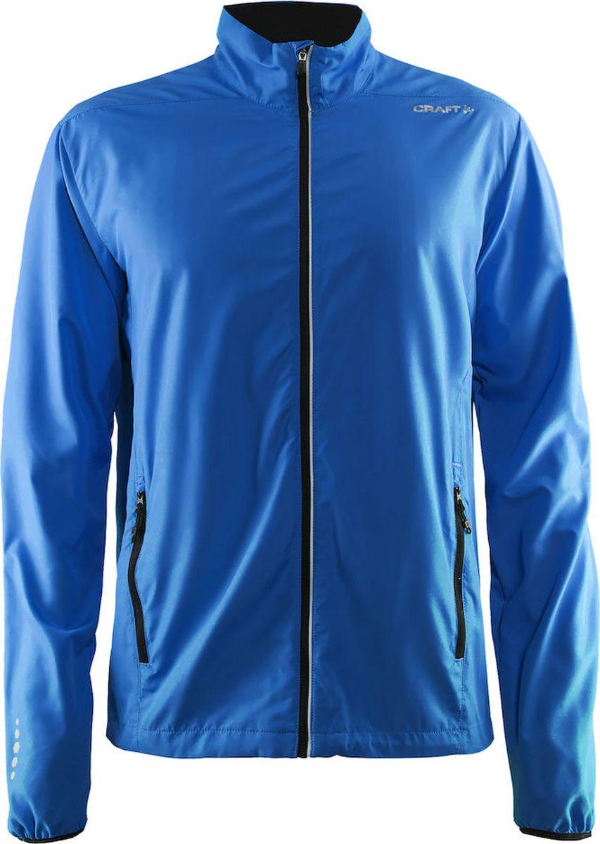 Ветровка мужская Craft Mind Run, цвет: голубой. 1904732/1336. Размер XXL (54) сумка для бега craft transit 1 цвет черный