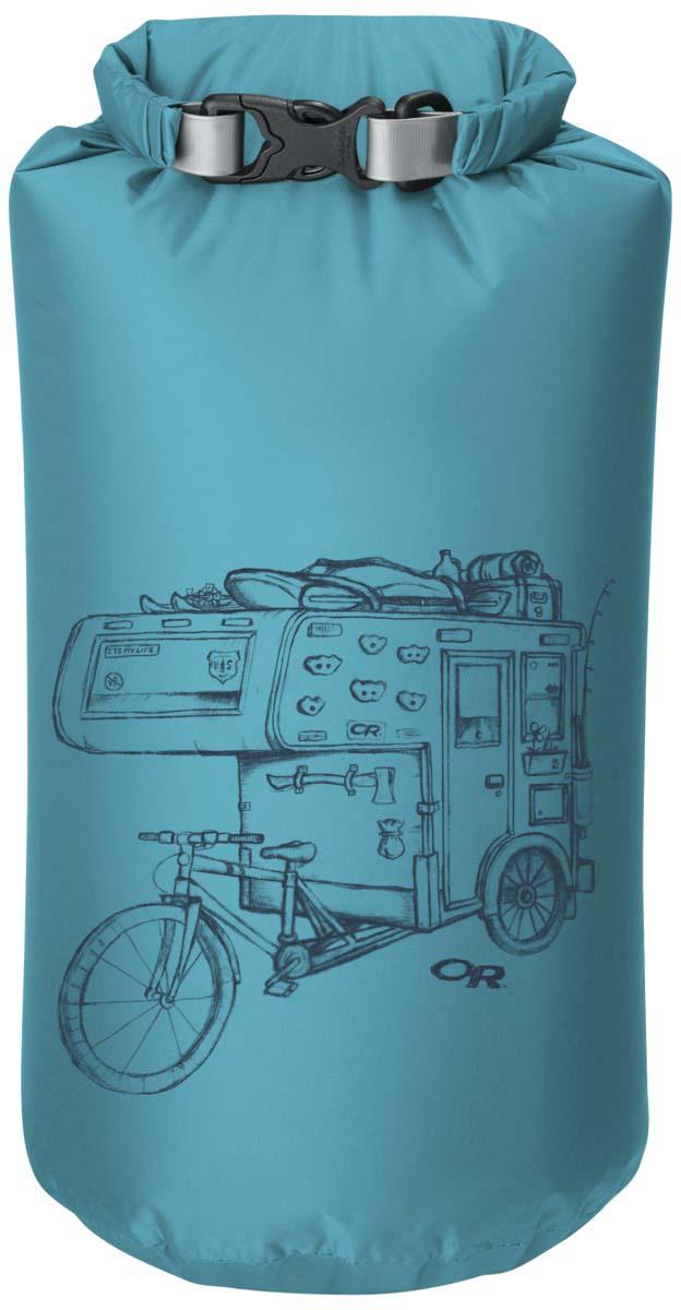 Гермомешок Outdoor Research Dirtbag Typhoon, 35 л2643800370Гермомешок Outdoor Research выполнен из облегченного, но прочного нейлона. Изделие исключает промокание благодаря водонепроницаемой пропитке. Технологичные свойства:- Закрывается скручиванием и фиксируется застежкой;- Водостойкий, прочный материал;- Проклеенные швы;Малый вес и уникальные свойства делают этот туристический аксессуар необходимым в каждом путешествии или походе.