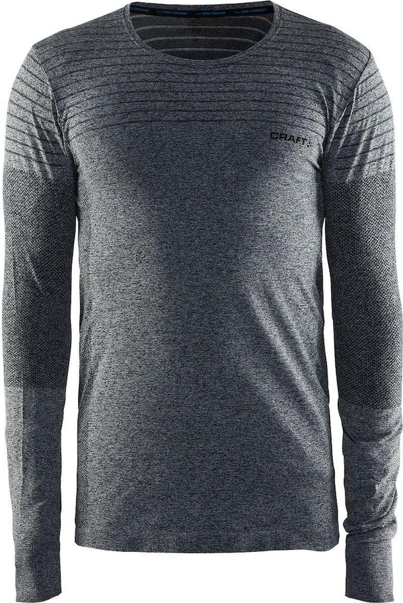 Лонгслив мужской Craft Cool Comfort, цвет: серый. 1904917/1998. Размер XXL (54) craft джемпер мужской craft pace jersey