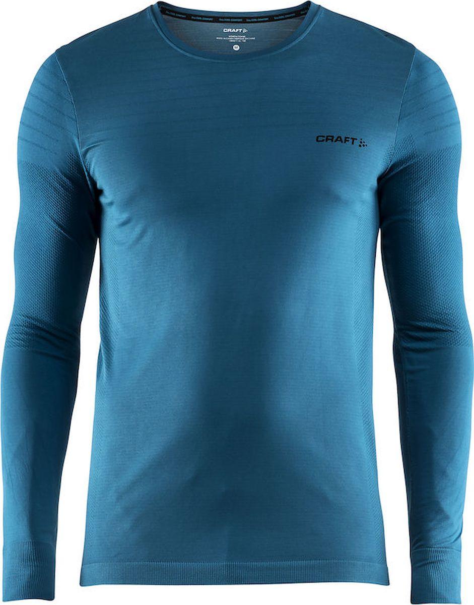 Лонгслив мужской Craft Cool Comfort, цвет: синий. 1904917/1657. Размер XXL (54) craft джемпер мужской craft pace jersey