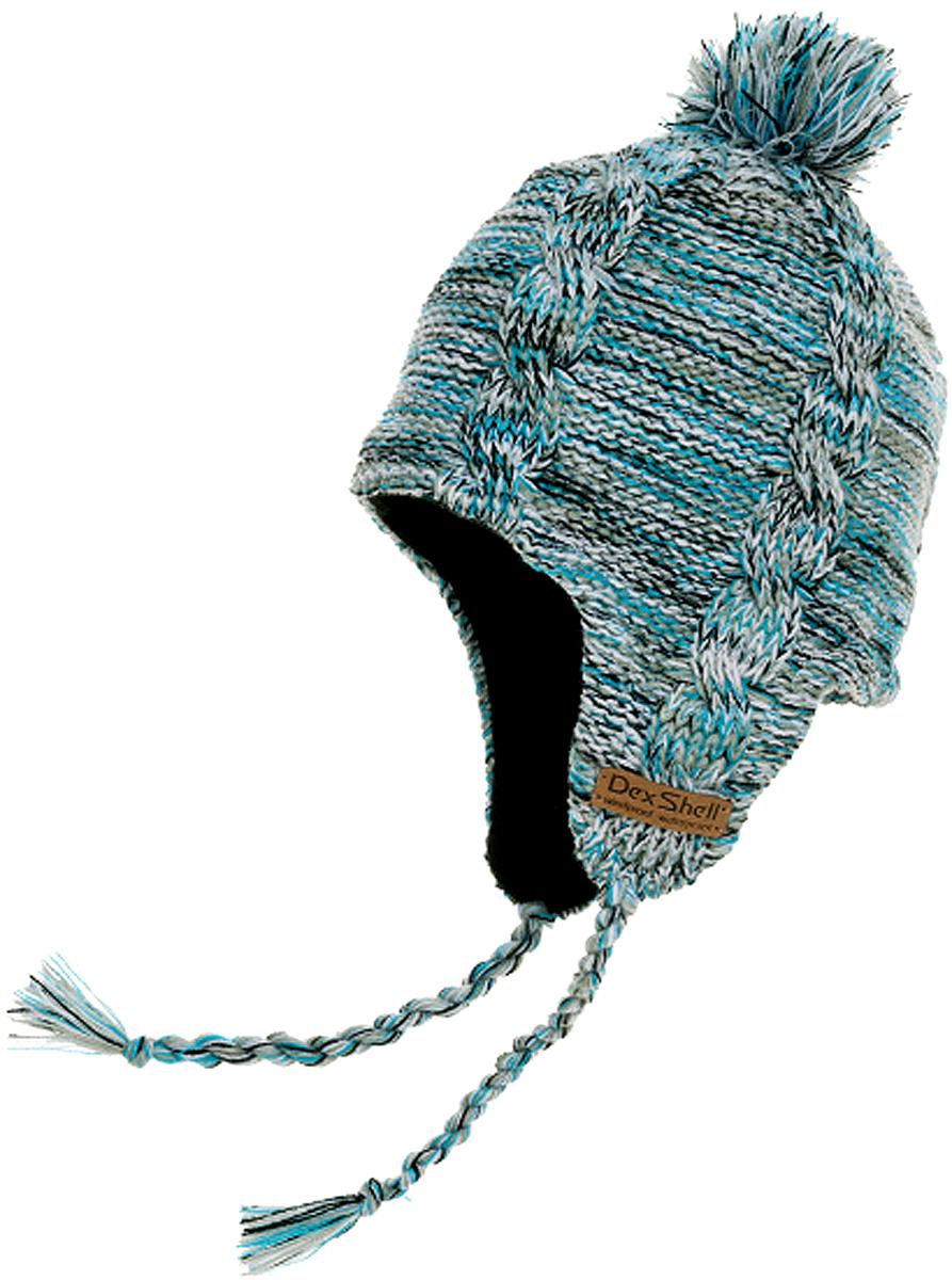 Шапка водонепроницаемая Dexshell, цвет: голубой. DH392-SH. Размер универсальный