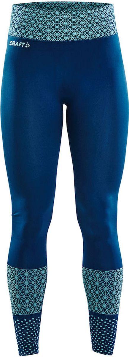 Тайтсы женские Craft Core Block, цвет: бирюзовый. 1905966/657610. Размер M (46) craft брюки женские craft grit