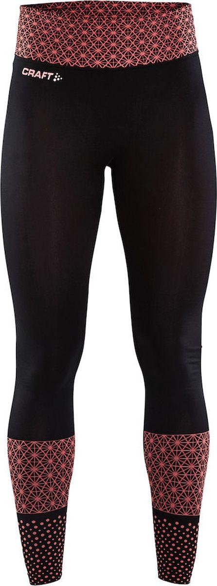 Тайтсы женские Craft Core Block, цвет: черный. 1905966/702999. Размер M (46)1905966/702999Бесшовные трикотажные тайтсы для тренировок с плотной посадкой.