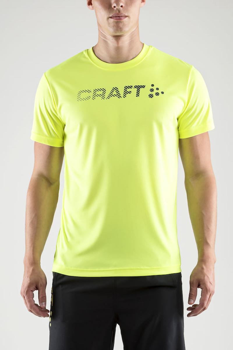 Футболка мужская Craft Prime Run Logo, цвет: желтый. 1904341/2809. Размер XL (52) soehnle весы кухонные page evolution 21х13 3х1 см белые 66177 soehnle page 5