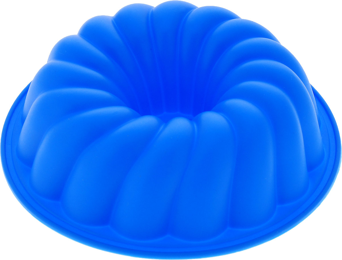 """Форма для выпечки Доляна """"Малыш"""", цвет: синий, 12 х 2,5 см"""