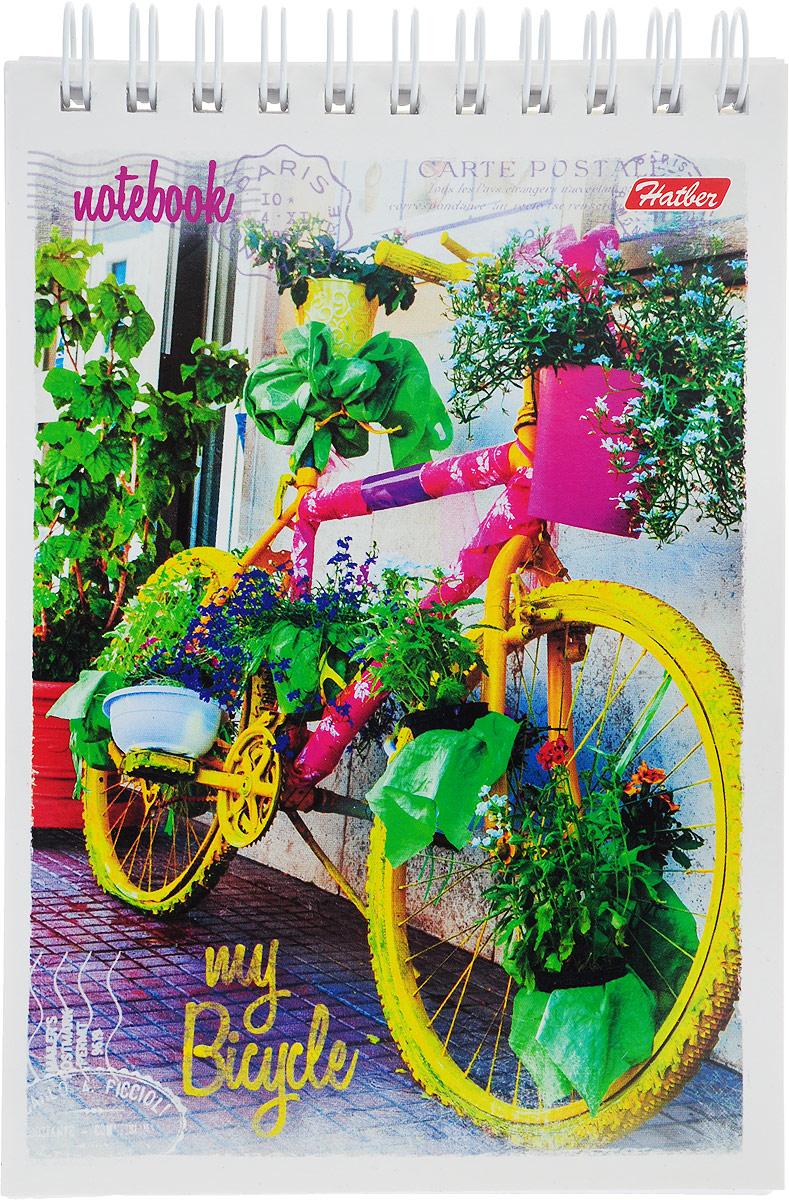 Hatber Блокнот Лето на велосипеде цвет желтый 80 листов41723_желтыйHatber Блокнот Лето на велосипеде цвет желтый 80 листов