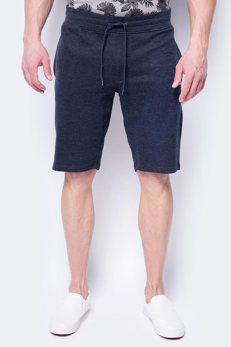 Шорты мужские Jack & Jones, цвет: синий. 12130001. Размер M (48) шорты мужские dc shoes цвет синий edybs03073 blv0 размер 32 48