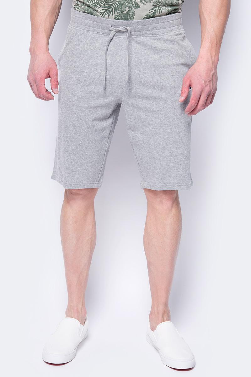 Шорты мужские Jack & Jones, цвет: серый. 12130001. Размер M (48) рубашки jack