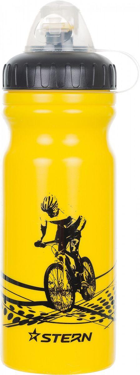 Фляга велосипедная Stern Water Bottle, цвет: желтый, 700 мл