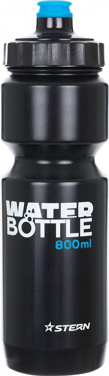 Фляга велосипедная Stern Water Bottle, цвет: черный, 800 мл