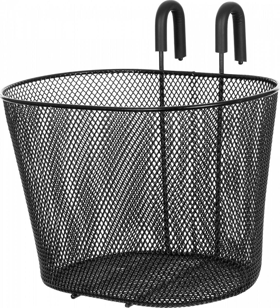 Велокорзина Stern Cheap Bicycle Basket, цвет: черный