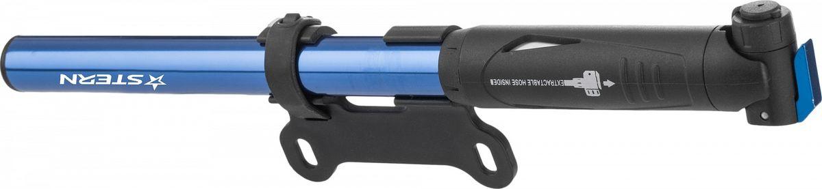 Насос велосипедный Stern Pump, цвет: синий