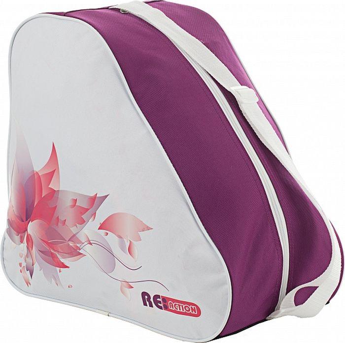 Сумка для роликов Reaction Bag To Carry Inline Skates, цвет: белый, сиреневый розетка schneider electric pa16 108d этюд